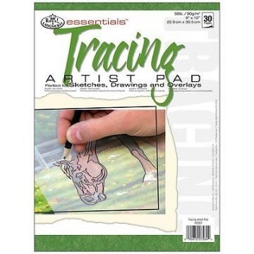 ESSENTIAL TRACING PAPER ARTIST PAD A4 30 SHEETS by ROYAL & LANGNICKEL